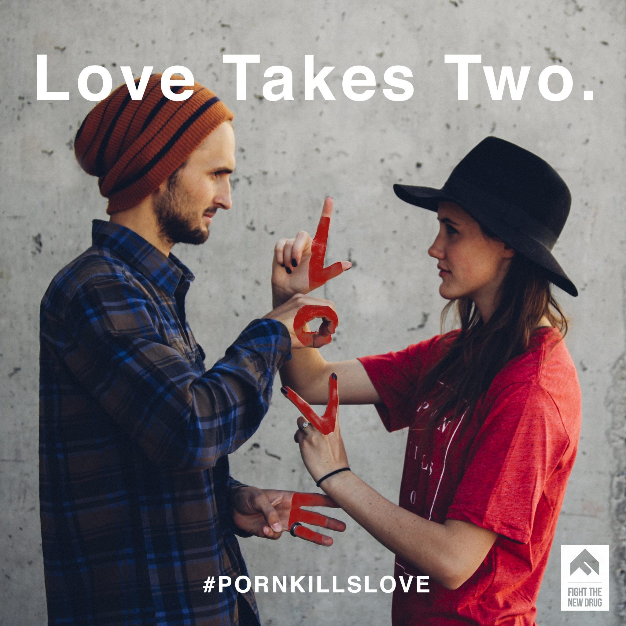Love Takes Two.