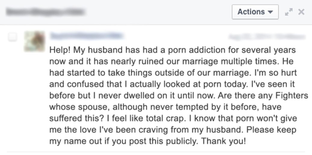These are real stories from real people who have had their relationship  torn apart by the harmful effects of pornography. Still think porn is  harmless, ...