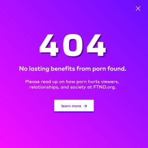 How porn ruins relationships