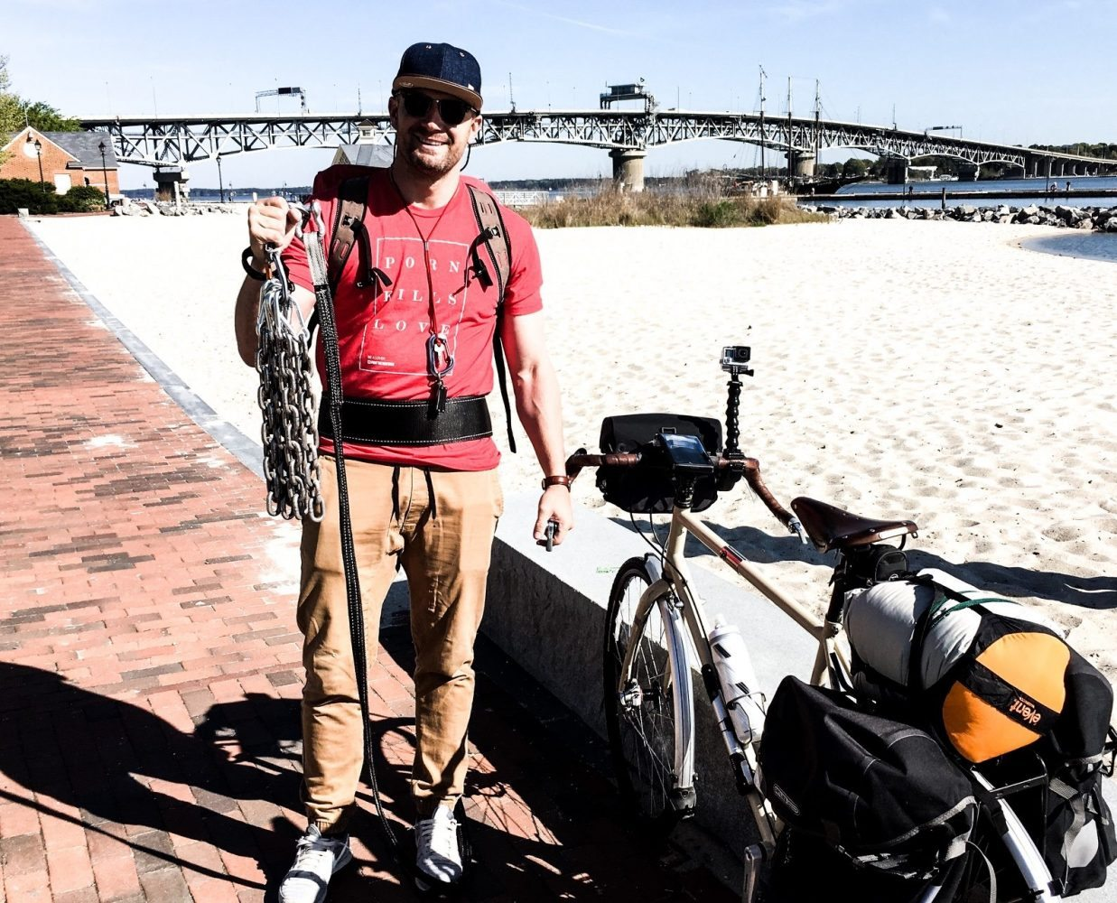WATCH: Man Biked 3,800 Miles Across The U.S. to Raise Awareness on Porn's Harms
