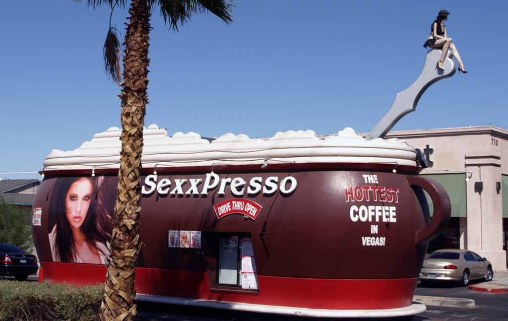 Another sexxpresso coffee shop spot in Las Vegas, NV