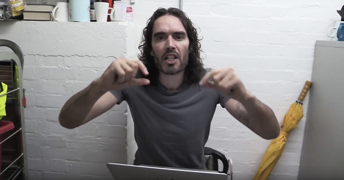 Actor Russell Brand Reveals Why He No Longer Watches Porn (VIDEO)