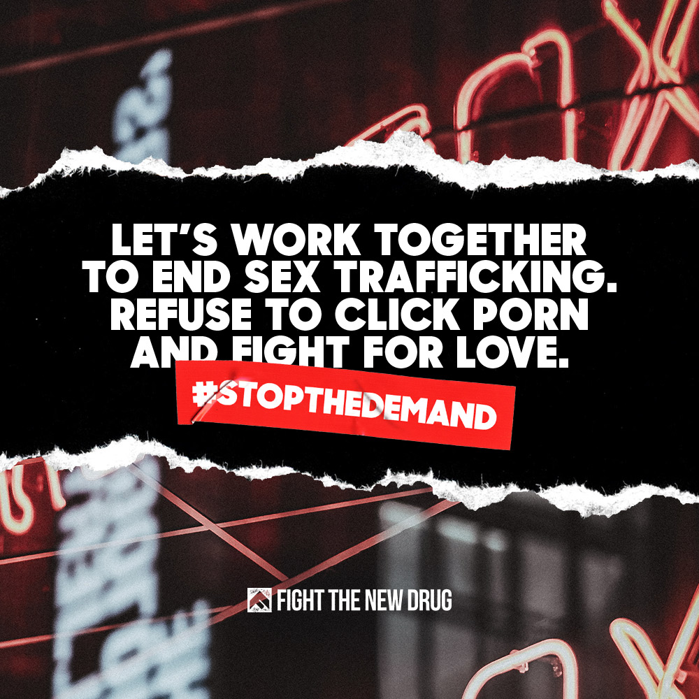 #StopTheDemand: Let's Work Together To End Sex Trafficking.