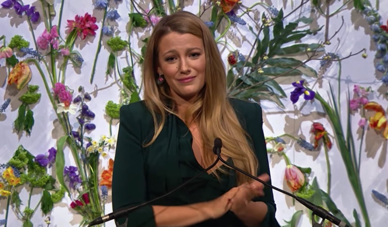 WATCH: Blake Lively Gives Passionate, Heartbreaking Speech About Child Pornography