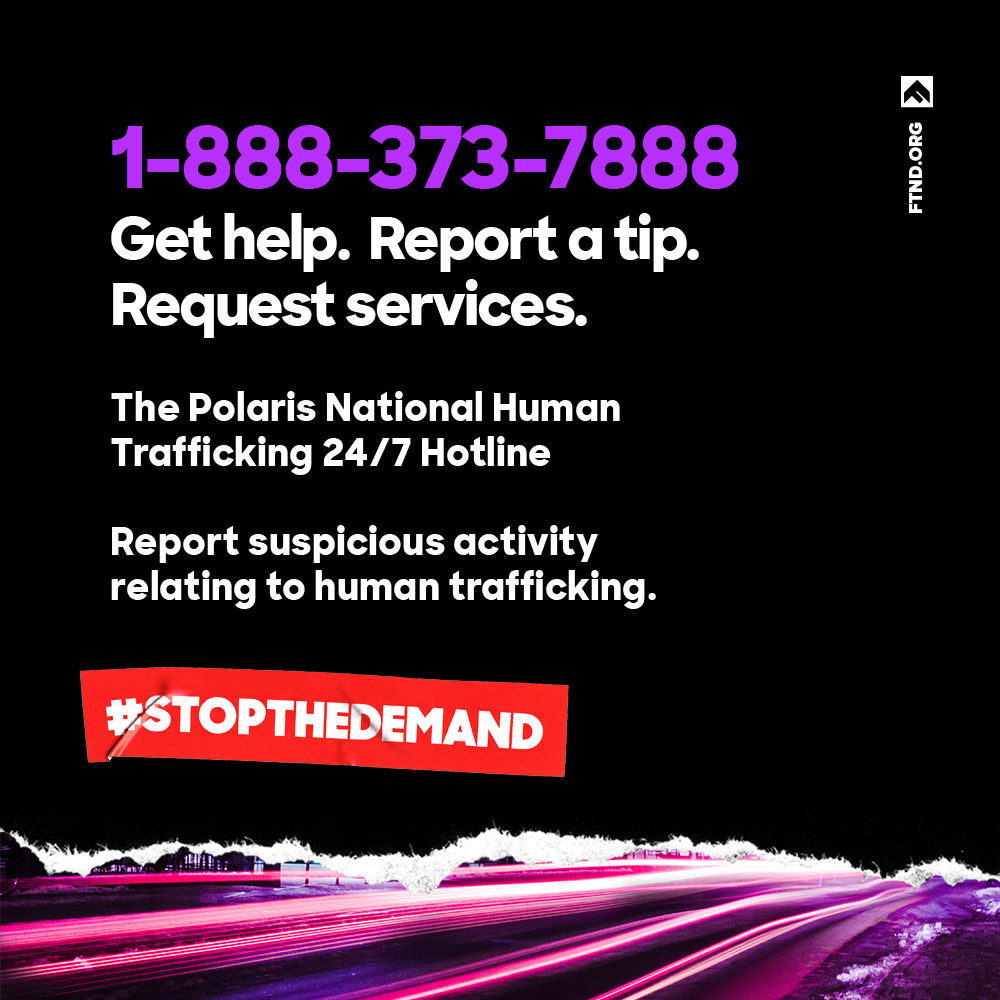 polaris and human trafficking Congressman erik paulsen and other minnesota leaders endorse campaign to alert human trafficking victims about how to reach out for help september 1, 2016 minneapolis, minnesota — polaris.