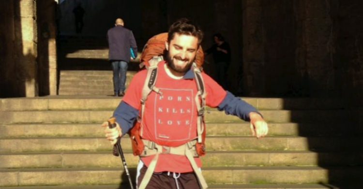 Meet the Irishman Who Walked Across Europe to Raise Awareness on Porn's Harms