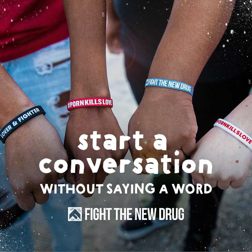 How To Start The Conversation About Drug Use >> Start A Conversation Without Saying A Word