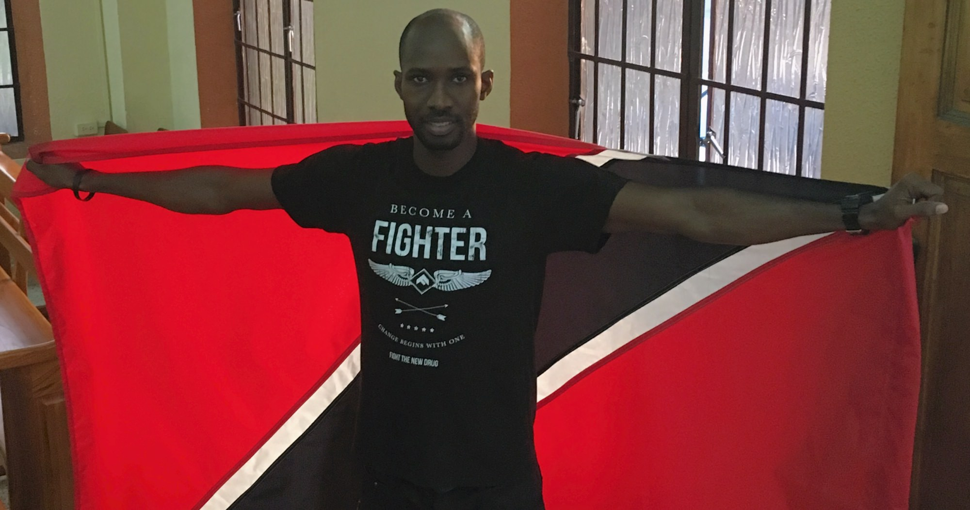 Jerome's Story: Meet Fight the New Drug's Ambassador in Trinidad and Tobago