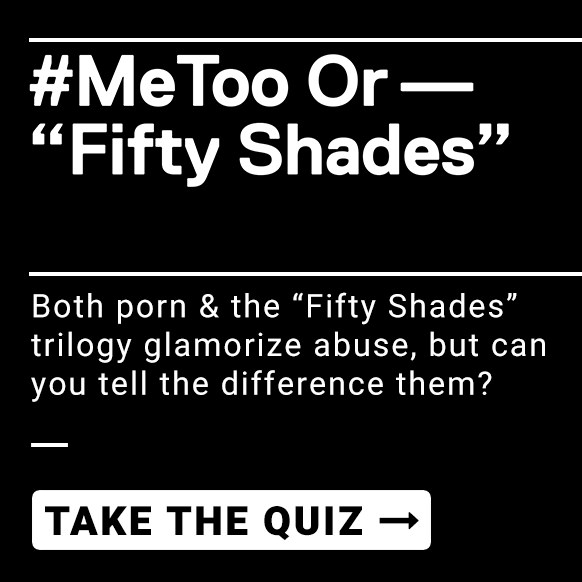 MeToo or Fifty Shades Quiz