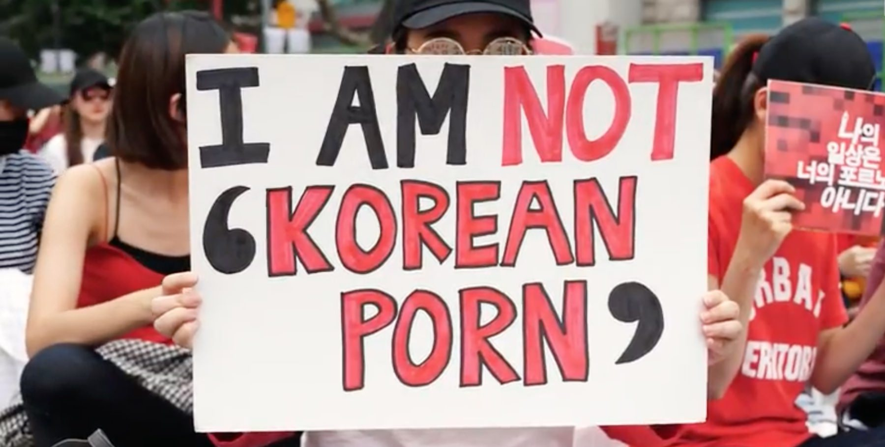 Why Over 22,000 Women in South Korea Are Protesting Against the Spycam Porn Epidemic