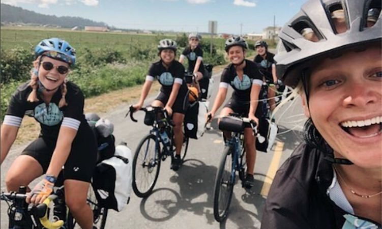 VIDEO: Meet the Female College Students Who Biked the Pacific Coast to Fight Child Sex Trafficking