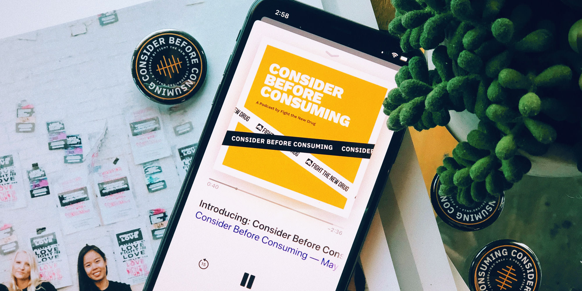 """Everything You Need to Know About Fight the New Drug's """"Consider Before Consuming"""" Podcast"""