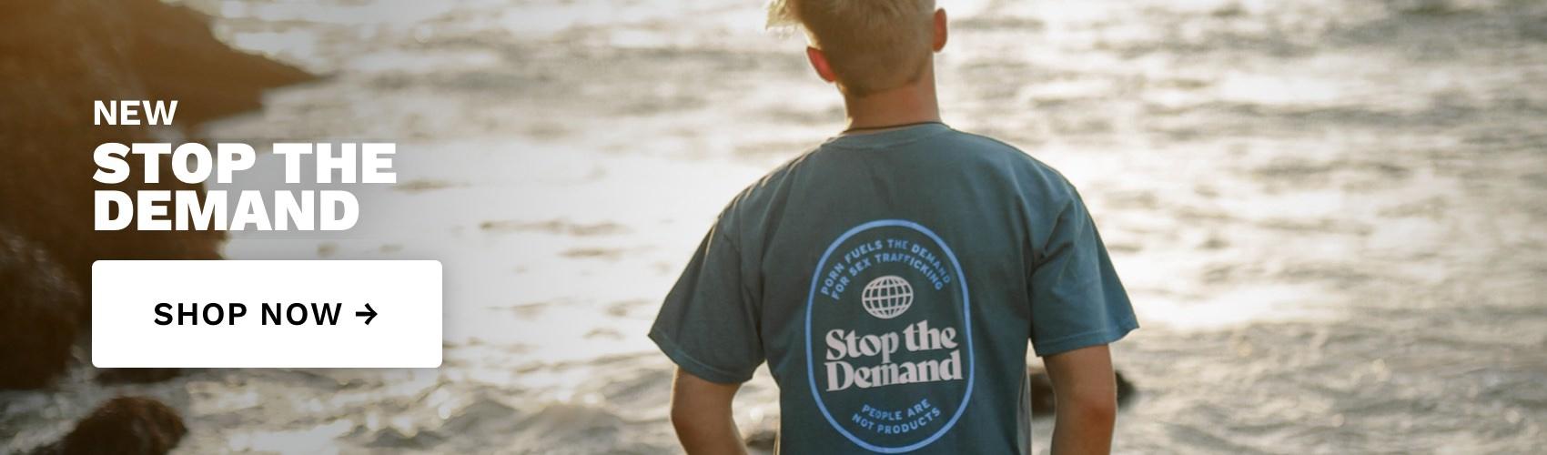 Stop The Demand - Denim