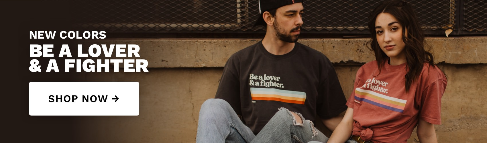 Be A Lover And A Fighter - Retro